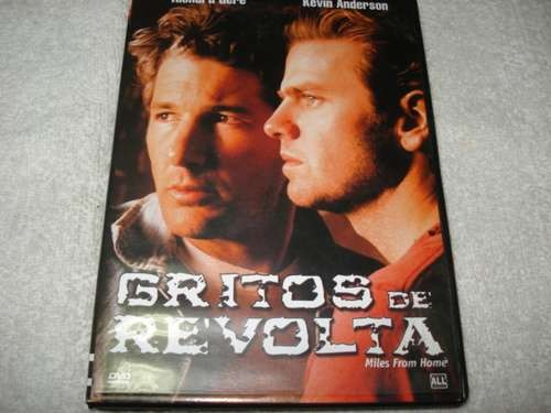 Dvd Gritos De Revolta Com Richard Gere Original