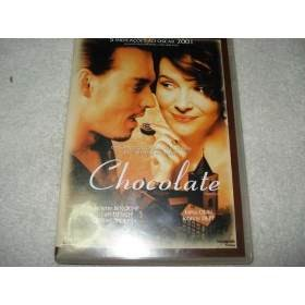 Dvd Chocolate Com Johnny Deep E Julliette Binoche Original