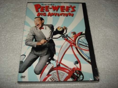 Dvd Importado Usa Região 1 Pee Wees Big Adventure