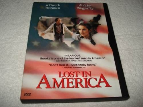 Dvd Importado Usa Região 1 Lost In America Com Albert Brooks