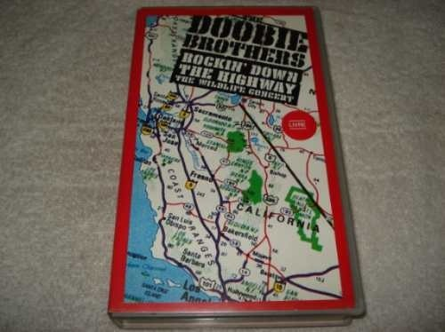 Filme Fita Vhs Doobie Brothers Rockin Down The Highway Novo