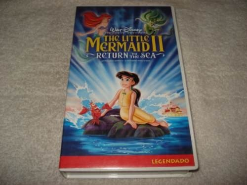 Filme Fita Vhs Walt Disney The Little Mermaid 2 Return Sea
