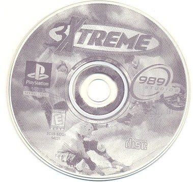 GAME PS1 PLAYSTATION 1 3 XTREME CD PRATA SEM MANUAL