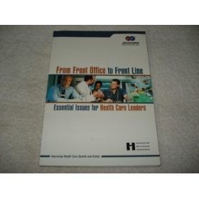 Livro From Front Office To Front Line Em Inglês