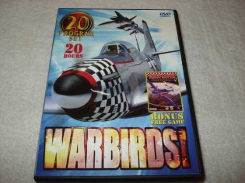 Dvd Box Warbirds + Game Redline Original Novo Lacrado