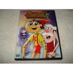 Dvd Infantil Pinocchio