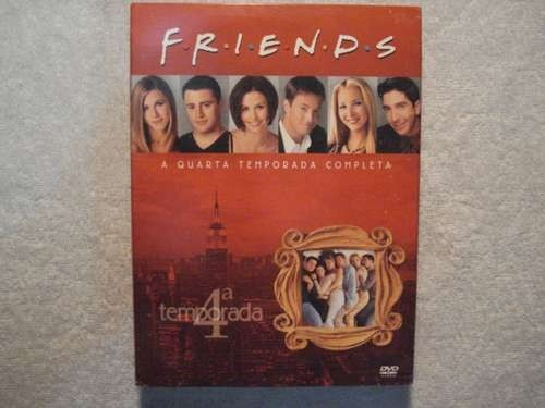 Dvd Box Friends Quarta Temporada Completa Original Lacrado
