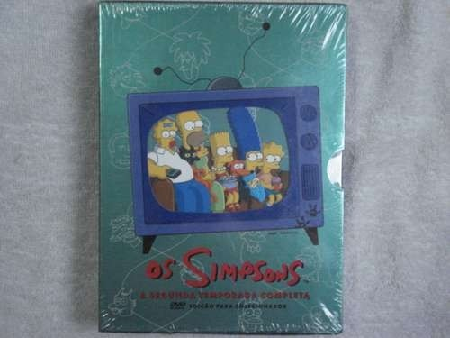 Dvd Box Os Simpsons Segunda Temporada Completa Original Lacrado