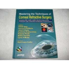 Livro Corneal Refractive Surgery Miguel Padilha Cd Room 2006