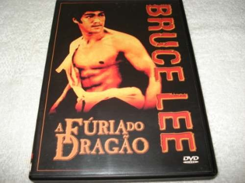 Dvd A Fúria Do Dragão Com Bruce Lee