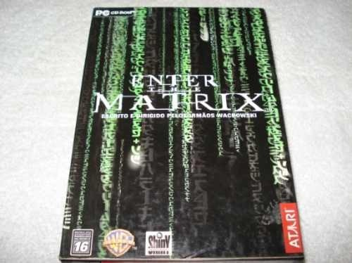 Game Pc Cd Enter The Matrix Original Novo Lacrado