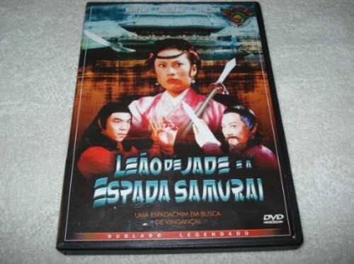 Dvd Leão De Jade E A Espada Samurai Fighter Collection