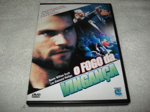 Dvd O Fogo Da Vingança Com Seann William Scott E Lou Diamond
