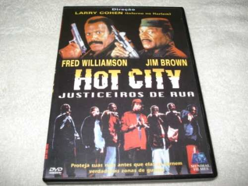 Dvd Hot City Justiceiros De Rua Fred Williamson E Jim Brown