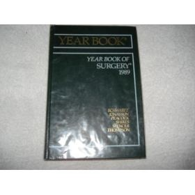 Livro Year Book Sugery 1989