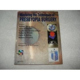Livro Presbyopia Surgery Com Cd Room 2006