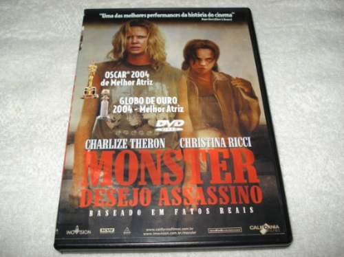 Dvd Monster Desejo Assassino Com Charlize Theron