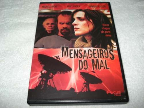 Dvd Mensageiros Do Mal Com Michele Hicks E Erik Jensen