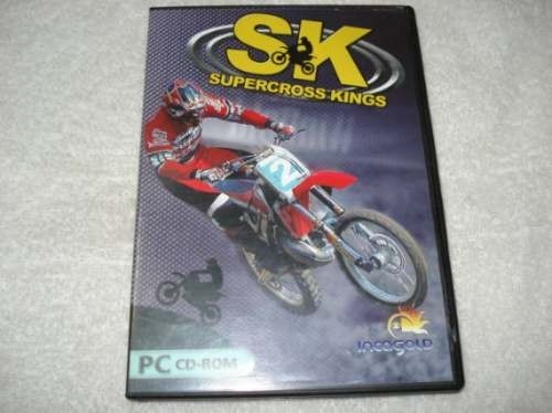 Game Pc Cd Sk Supercross Kings Novo Original Lacrado