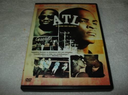 Dvd Atl O Som Do Gueto Lacrado
