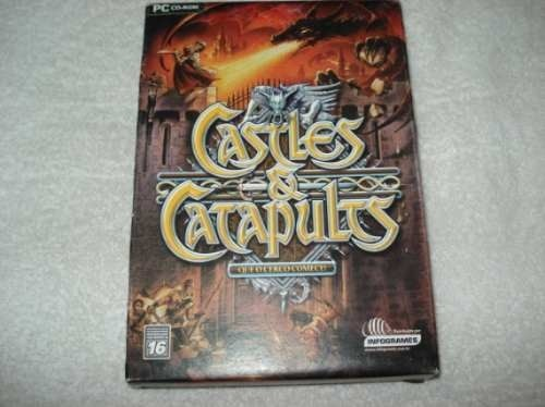 Game Pc Cd Castles & Catapults Novo Lacrado Original