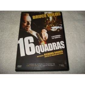 Dvd 16 Quadras Com Bruce Willis