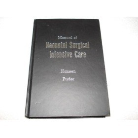Livro Manual Of Neonatal Surgical Intensive Care - 2003