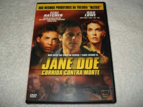 Dvd Jane Doe - Corrida Contra Morte