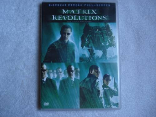Dvd Duplo Matrix Revolutions Novo Original Lacrado