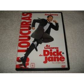 Dvd As Loucuras De Dick & Jane Com Jim Carrey