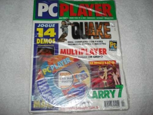 Game Pc Revista Pc Player 14 Cd Jogos Demos Original