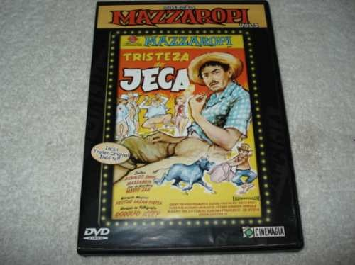 Dvd Mazzaropi - Tristeza Do Jeca