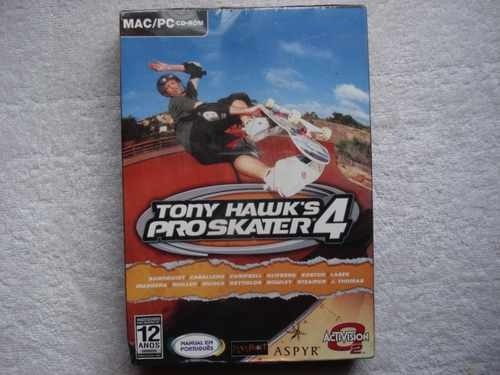 Game Para Pc Mac Tony Hawks Pró Skater 4 Original Novo