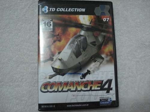 Game Pc Revista Td 07 Comanche 4 Original Novo