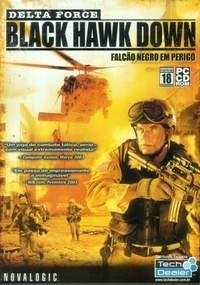 Game Pc Delta Force Black Hawk Down - Falcão Negro Em Perigo