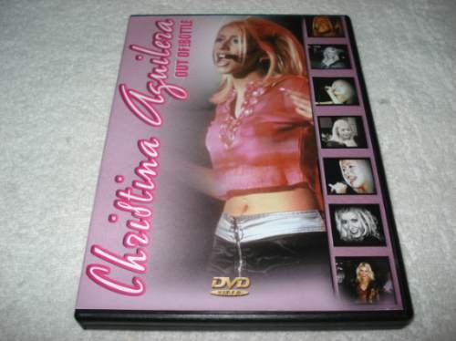 Dvd Christina Aguilera Out Of The Bottle Novo Lacrado