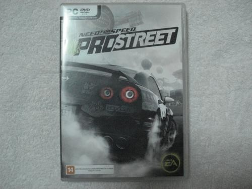 Game Para Pc Need For Speed Pro Street Pc Dvd Original Novo