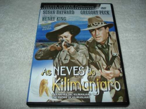 Dvd Clássico As Neves Do Kilimanjaro Susan Hayward