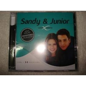 Cd Duplo Sandy E Junior Sem Limite Original Novo