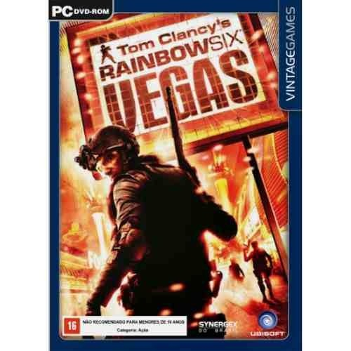Game Pc Rainbow Six Vegas 1 Raridade Novo Lacrado