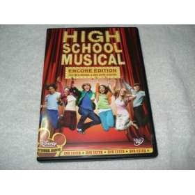 Dvd High School Musical Encore Edition Novo Original