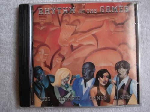 Cd Rhythm The Games 1996 Olympic Games Album Original Novo