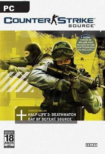 Game Pc Counter Strike Source - Cd-rom