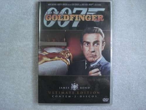Dvd Duplo 007 Contra Goldfinger James Bond Original Lacrado