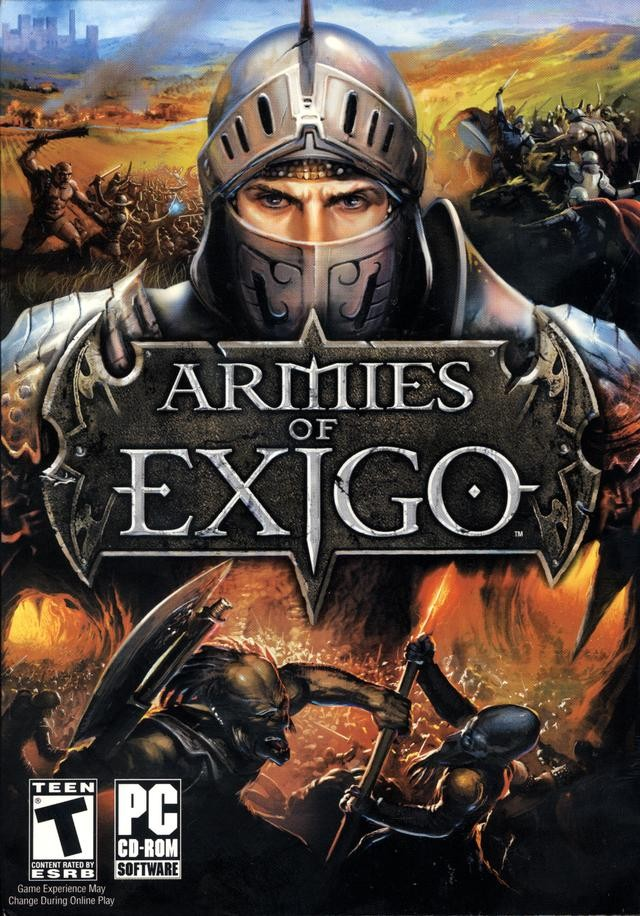 Game Pc Armies Of Exigo - Edição De Luxe - Dvd-rom