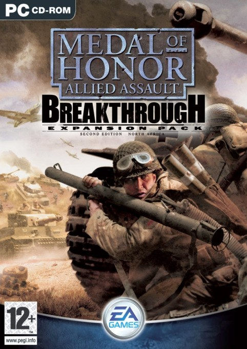 Game Pc Medal Of Honor Allied Assault Breakthrough De Luxe