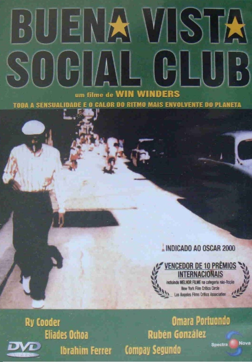 DVD LACRADO BUENA VISTA SOCIAL CLUB FILME DE WIN WINDERS - LEGENDAS EM PORTUGUES