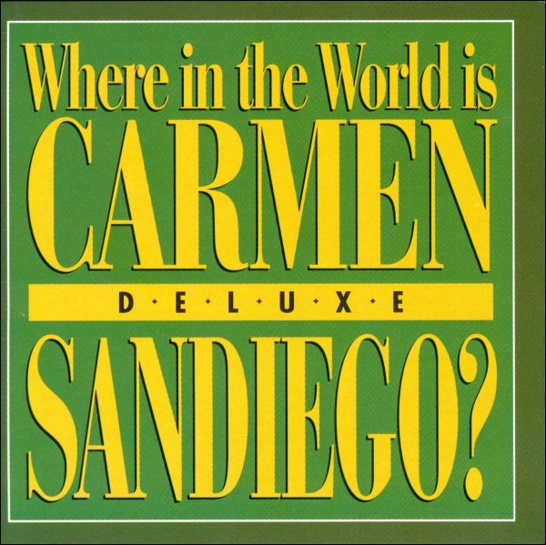 Game Pc Where In The World Is Carmen Sandiego De Luxe