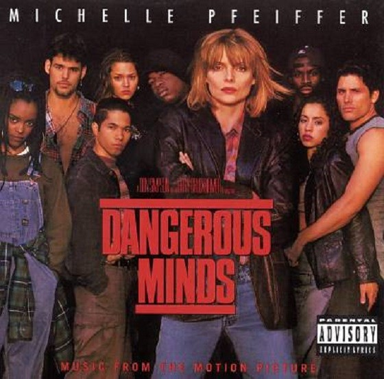 CD LACRADO DANGEROUS MINDS MUSIC FROM MOTION PICTURE 1995