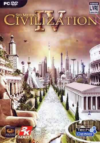 Game Pc Civilization 4 Sid Meier's Pc-cd Original Novo